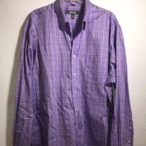 Kenneth Cole Reaction Noiron dress shirtXL Reg fit